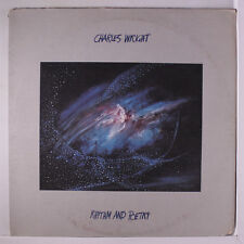 CHARLES WRIGHT: Rhythm And Poetry LP (cut corner, some seam/corner wear, slight
