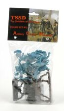 Toy Soldiers Of San Diego ACW Artillery Cavalry Wounded Set 12 Blue Figures