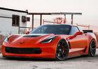 19 20 Varro Vd01 Black Wheels Corvette C6 C7 Z06 Zr1 Gransport 19x10 20x12