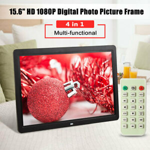 15.6'' HD 1080P LED Digital Photo Picture Frame Movie Player Remote Controller