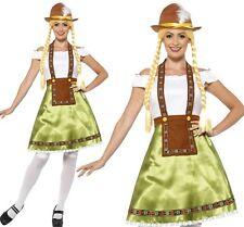 Smiffys Womens Bavarian Maid Fancy Dress Costume Medium (uk Size 12-14) 45513M