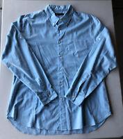 Men's John Varvatos Star USA Button Down Long Sleeve Shirt Pre-Owned Size XL