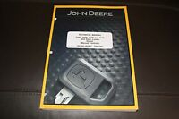 JOHN DEERE 318D 319D 320D 323D SKID STEER LOADER REPAIR SERVICE  MANUAL TM11399