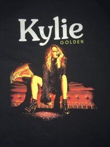 Kylie Minogue Official Tour T Shirt Golden 2018 Uk, Ireland And Europe