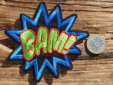 ECUSSON PATCH THERMOCOLLANT aufnaher toppa BAM!! cartoon marvel / 10cm X 9.5cm