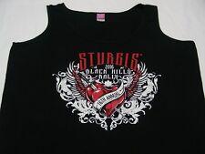 Sturgis 2016 Negro Hills RALLY-16 ANUAL - Mujer Talla XL Camiseta de tirantes