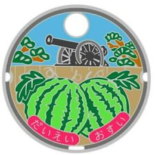 Pathtag 33101 - Watermelon Cannon JMC - Japanese Manhole Cover