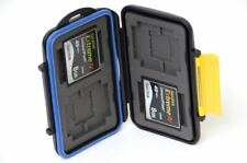 TWO Fast Sandisk Extreme IV 8GB 45MB/s CF Memory Cards w/ Waterproof Case (16GB)