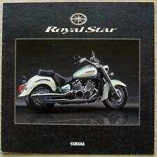 YAMAHA ROYAL STAR MOTORCYCLE LF Sales Brochure 1998 JAPANESE TEXT