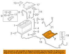 AUDI OEM 16-18 TT Quattro 2.0L-L4-Battery Tray 8S0804277TA