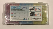 200 pcs Ticonn Nylon Quick Disconnect Electrical Wire Connectors (Brand New)