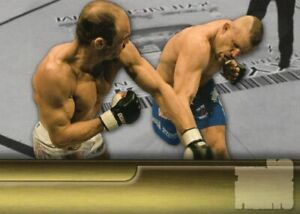 Chuck Liddell 2011 Topps UFC Title Shot Top Ten Title Fights Misprint