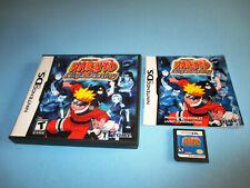 Naruto: Ninja Destiny Nintendo DS Lite DSi XL 3DS 2DS Game w/Case & Manual