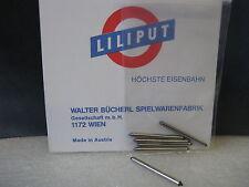 LILIPUT # 200.248S H0 Achsen 2mm spitz (6 Stück) auch für ROCO passend