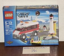 NEW SEALED LEGO 3366 CITY TOWN SATELLITE LAUNCH PAD ROCKET AND VAN