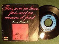 """LADY BANGALA : Fais-moi ça bien, fais-moi ça comme il faut 7""""  45T MM 6172 786"""