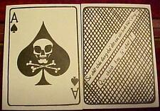 Vietnam Death Card Ace of Spades Death To Viet Cong Psyops Warfare