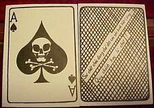 Vietnam Death Card Ace of Spades Death To Viet Cong Psyops Warfare