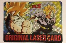Dragon Ball Z Original Laser Card