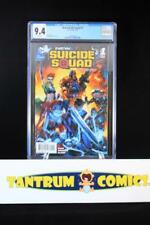 New Suicide Squad #1 (2014)  CGC 9.4 - Harley Quinn, white pages