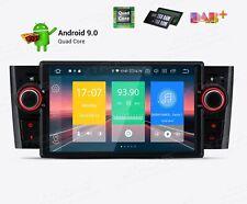 "Android 9.0 FIAT GRANDE PUNTO  2005-2009 WIFI BLUETOOTH USB GPS MIRROR LINK 7"""