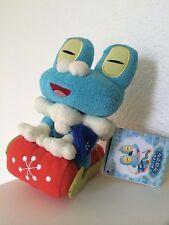 Froakie Plush Pokemon Center Japan Christmas 2013 Snow Play Promo Poke Doll