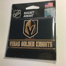 Las Vegas Golden Knights NHL WinCraft Team Colors Refrigerator Magnet