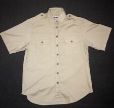 Tilley Endurable's Button Up Shirt Khaki Colour Men's Small Great Condition