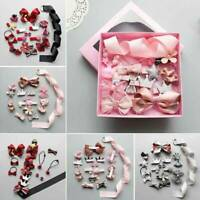 18Pcs/Lot Baby Girl Hair Clip Bow Flower Mini Barrettes Party Star Kids Hairpins