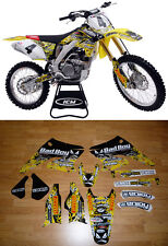 2004-2006  SUZUKI RMZ 250 BADBOY Motocross Graphics Dirt Bike Graphics Kit
