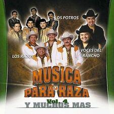 Los Razos,Los Potros,Voces del rancho Musica Para Raza Vol 4 CD New Nuevo Sealed