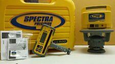 Trimble Spectra Precision LL500 Level W/HL700 LASEROMETER DETECTOR