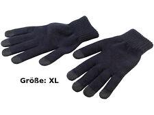 Touchscreen Handschuhe Winter Handschuh Gr. XL mit 5 Fingerkuppen Handy Tablet