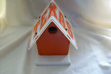 Texas License Longhorn Birdhouse Euc (displayed inside)