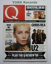 Q MAGAZINE - Issue 17 February 1988 - U2 / Annie Lennox / Chris Rea / It Takes 2