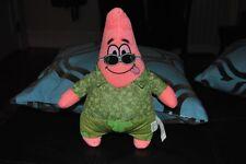 "SpongeBob Squarepants Patrick Starfish Plush Doll Green Hawaiian Outfit 11"""