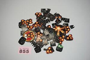 Warhammer Epic Battlefleet Gothic Templates Blast Markers Counters - Lot 855