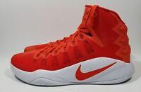 Nike Hyperdunk 2016 TB Mens Basketball Shoes Orange White Size 14