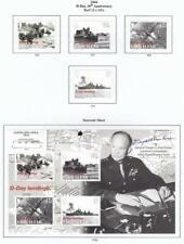 GIBRALTAR # 976-979,979a  VF-MH  D-DAY 60TH + SOUVENIR SHEET CAT VALUE $20