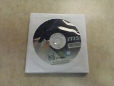 MSI GEFORCE GT 710 Drivers And Utility Disc W/ User Guide NEW