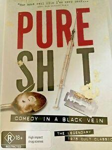 PURE SHIT (DVD , Single Disc   )  Aussie Comedy 1975 Rare Like New! Region 4