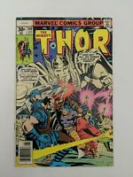 The Mighty Thor #260 (June 1977) 1st App Of Phoenix Of Freedom Len Wein Marvel