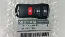 NISSAN OEM 28268ZT03A Remote Transmitter for Keyless Entry and Alarm 28268-ZT03A