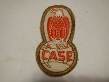 Vtg JI Case Eagle Farm Tractor Machinery Cloth Patch