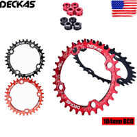DECKAS MTB Bike 104bcd 32-38T Narrow Wide Chainring Cycling Sprockets Bolts