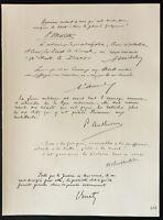 1926 - Litografía Citas General Maistre, Michelet, Amadé , Anthoine