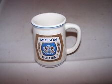 1981 Small Tankard FRANKLIN MINT Beer Stein MOLSON GOLDEN