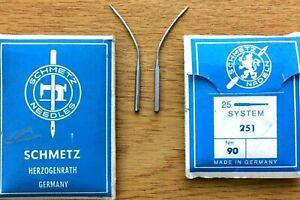 SCHMETZ SYSTEM: 251 NM90 BLINDSTITCH CURVED INDUSTRIAL SEWING MACHINE 23 NEEDLES