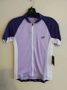 Women's Performance Elite Cycling Bike Jersey SS violet