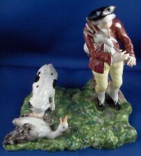 Antigüedad 18thc 1760s VOLKSTEDT Porcelana Figura Figura porzellan figur Alemán